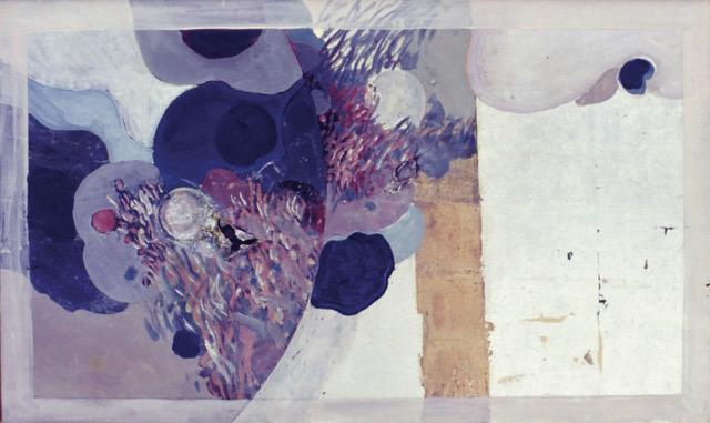 En sinkhvit boks, maleri av kai Øvre