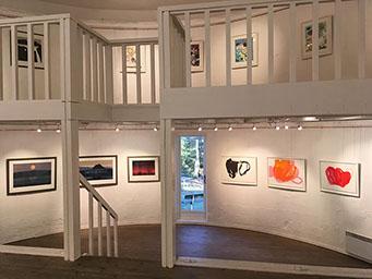 bilde av galleriet sett fra 2. etasje